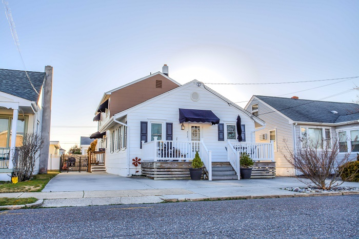 Wildwood Crest Summer Vacation Rental - 212 E St. Paul AvenueBack, Wildwood Crest